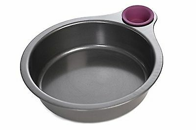 Quirky Nibble Non-Stick Cake Pan Baking Tin with Tasting Cup - 20cm