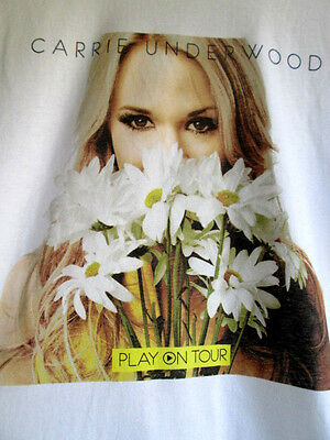 CARRIE UNDERWOOD...PLAY ON TOUR...T-SHIRT...NEW...sz SMALL