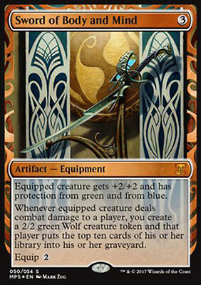PREORDER Magic the Gathering Sword of Body and Mind - Masterpiece Aether Revolt