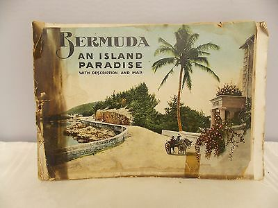 Souvenir of Bermuda Photo Booklet Undated/Early 1900's