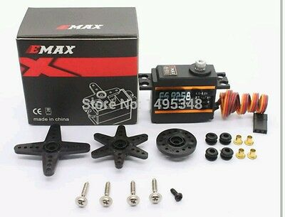 Emax 9258 hi speed hi torq metal gear digital servo for trex 500/450 tail.