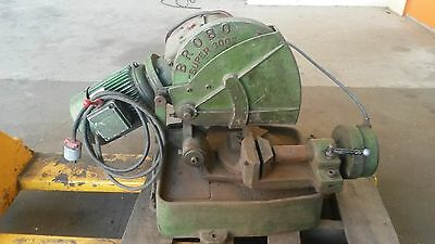 """Brobo Super 300 Cold Saw 12"""" Blade Coolant System Water Pipe Extra Saw Table Top"""
