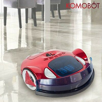 KomoBot Smart Robotic Vacuum Cleaner, Bagless, Cleaning Robot, Hard Floors