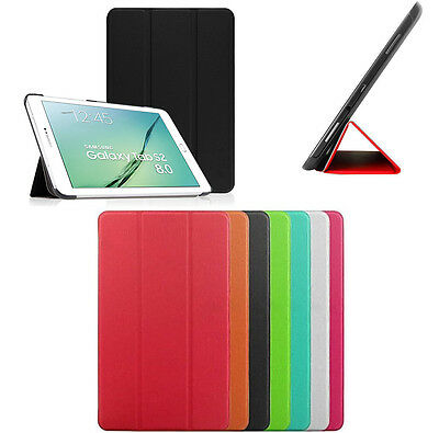 Smart Cover Slim Per Samsung Galaxy Tab S2 2016 8.0 Sm-T719 Custodia Tablet