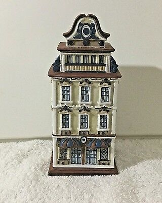 PARTYLITE TEALIGHT HOUSE Cafe Amsterdam NIB