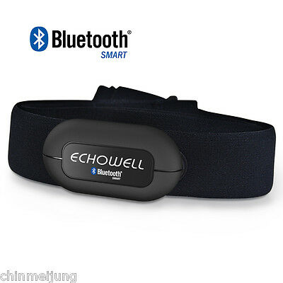 Echowell Wireless Bluetooth Heart Rate Sesor for Bike Stopwatch Accessory