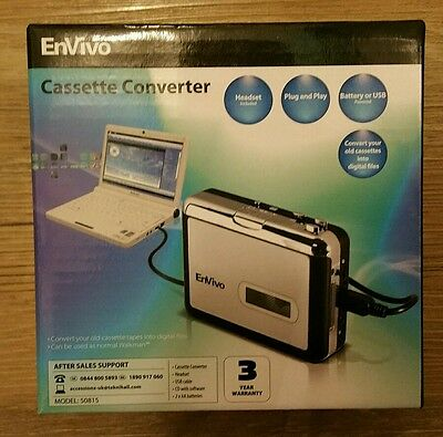 ENVIO tape cassette converter can be used as ordinary Walkman with headset