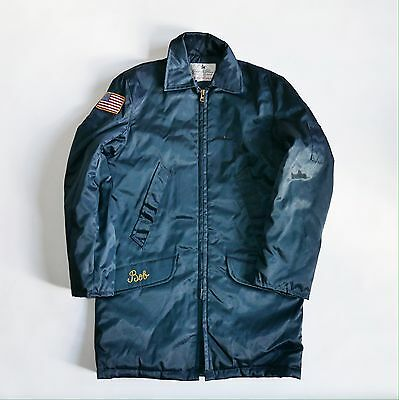 Golden Fleece NYPD Security Vintage 90's Cold Weather Coat Workwear - Bob's.