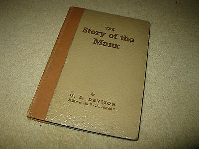 1st Edition 1948 The Story of the Manx T.T. Motorcycle Racing Book G.S.Davison