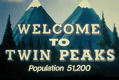 """""""Twin Peaks"""" (1990) Poster A0-A1-A2-A3-A4-A5-A6 1219"""