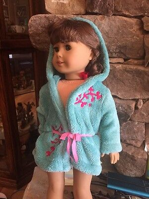 american girl doll Bathrobe And Slippers New Doll Not Included