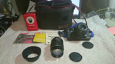 Zenit 11 Camera with accessories and case