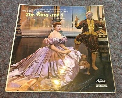 THE KING AND I stereo soundtrack VINYL LP RECORD