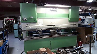 """Guifil Down Acting 10"""" x 121 Ton Hyd Press Brake w/ Autogage CNC 1000 2 Axis"""