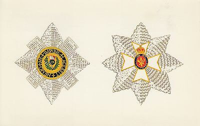 ROYALTY - HERALDIC -ORDER OF THE THISTLE - QUEEN AND PEOPLE no.9