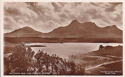 Tongue - Ben Loyal And Loch Hakaing - Real Photo By Lilywhite