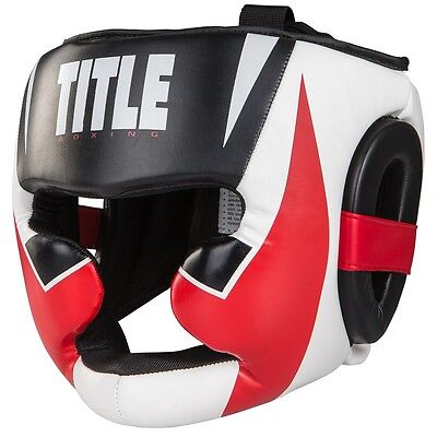 TITLE Boxing Command Full Face Training Headgear