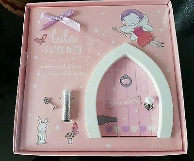 ☆☆☆BNIB MAGICAL FAIRY DOOR WITH MAGIC DUST AND KEY. Perfect gift  ☆☆☆