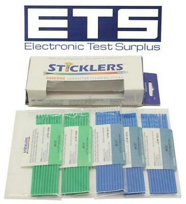 Sticklers CleanStixx Fiber Connector Cleaning Sticks MCC-S25 MCC-S12 ST SC LC MU