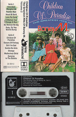 BONEY M. - Children of Paradise Volume 2 ★ MC Musikkassete Cassette