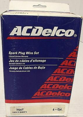 ACDelco 754T Spark Plug Wire Set - OEM 12173521