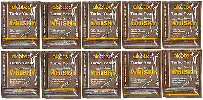 10 x Alcotec Turbohefe WHISKY  Gärhefe Hefe DISTILLERS WHISKY TURBO YEAST