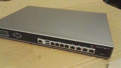 Fortinet FortiGate 200A Firewall VPN Security Appliance with Power supply Cable
