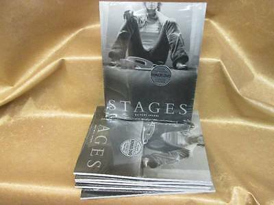 Britney Spears 2002 STAGES Book, Poster and Bonus DVD Set. New Old Stock