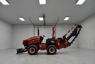 2012 Ditch Witch Rt80 Hydraulic Sliding Trencher Vermeer Rtx550 Rtx750 Rt55 Rt75