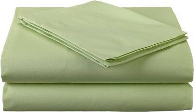 American Baby Company 100% Cotton Percale Toddler Bedding Sheet Set, Celery, 3