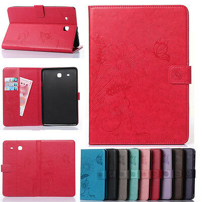 """Slim Smart Cover Case Stand for Samsung Galaxy Tab E 9.6"""" SM-T561 SM-T560 Tablet"""