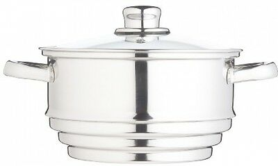 Clearview Stainless Steel Universal Steamer