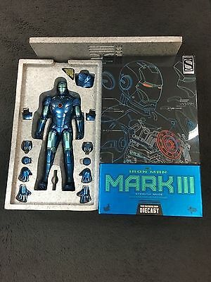 Iron Man Mark III Stealth Mode Diecast 1/6 Hot Toys Exclusive Figure