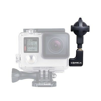 COMICA CVM-VG05 Ball-shaped Stereo Video Microphone fOR GoPro Hero 3+ 4 5