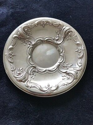 Sterling German Silver 800 Wilhelm Binder Antique Dish