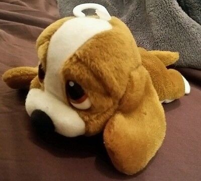 "Sad Sam Honey Puppy Dog Lying Down Applause Plush Stuffed Animal 6"" Cute Toy HTF"