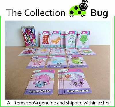 Shopkins Season 5 & 6 Trading Cards : Full set of Common Cards & 2 Checklists!
