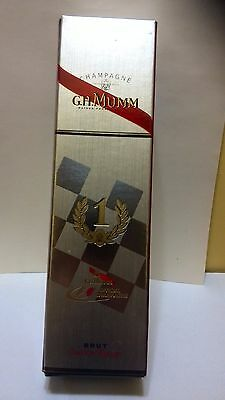 G.H.Mumm Champagne Cordon Rouge  F1 Box for Collectors