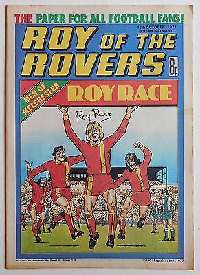 ROY OF THE ROVERS Comic - 15th October 1977
