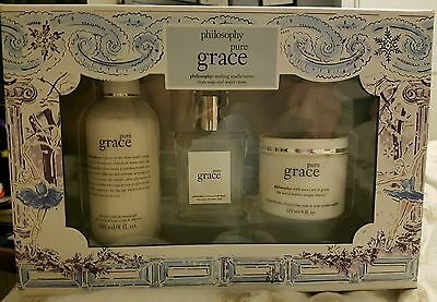 Philosophy - Pure Grace Gift Set - Limited Edition - New And Boxed