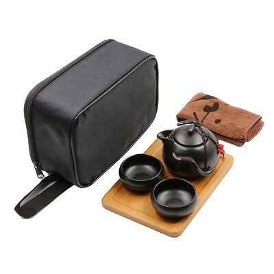 Tea Sets Traditional Chinese KungFu Ceramic TeaPot&Cup Portable Travel Teaware