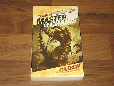 D&D Forgotten Realms Master of Chains The Fighters Novel 2005 WotC SC