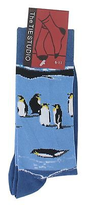 Adult Cotton Premium Quality Socks Birthday Novelty Gift - Penguin socks