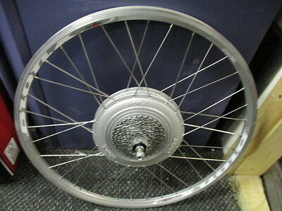 "BionX Wheel CRX 35 approx 23"" dia."