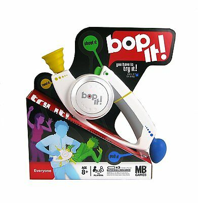 New Hasbro Bop It Classic Game White - 4 Actions including Shout It