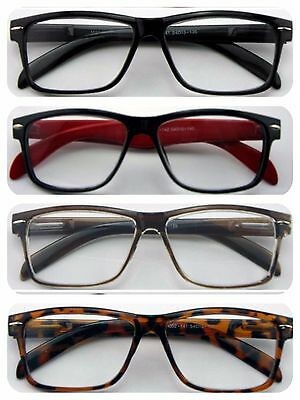 Wayfarer Reading Glasses/Super Classic Fashion Style/Large Frame Modern Design