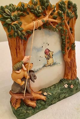 Classic Pooh 3D Photoframe By Charpente/michel & Company