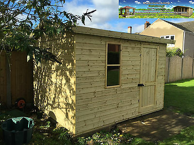 Shed Reverse Apex Garden Tool Store Heavy Duty Tanalised