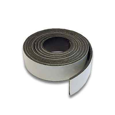 Magnetic strip with self adhesive backing