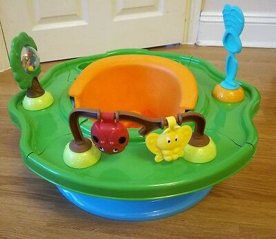 Summer Infant 3 stage Forest Friends Super Seat baby feeding booster